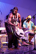 Cultural performance, Kingston.