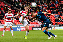 Alfie Kilgour of Bristol Rovers is fouled by Kieran Sadlier of Doncaster Rovers and awarded a penalty - Mandatory by-line: Robbie Stephenson/JMP - 19/10/2019 - FOOTBALL - The Keepmoat Stadium - Doncaster, England - Doncaster Rovers v Bristol Rovers - Sky Bet League One