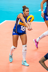 19-10-2018 JPN: Semi Final World Championship Volleyball Women day 18, Yokohama<br /> China - Italy / Lucia Bosetti #16 of Italy