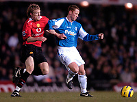 Photo: Richard Lane.<br /> Birmingham City v Manchester United. The Barclays Premiership. 28/12/2005.