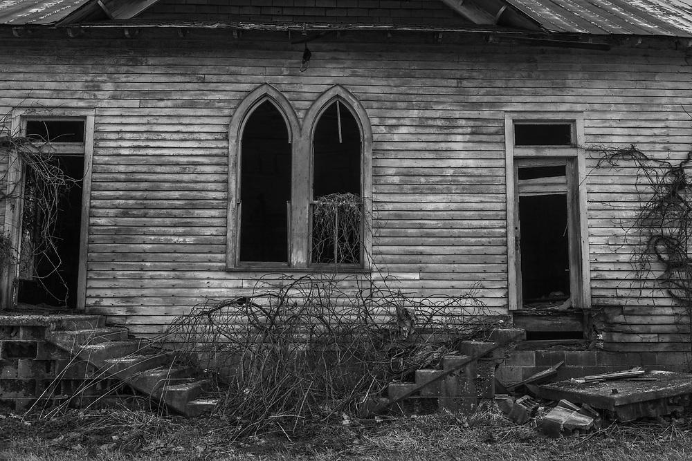 Abandoned Church. West Virginia.