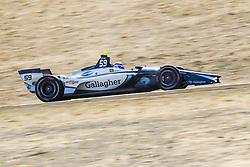 September 14, 2018 - Sonoma, California, United Stated - MAX CHILTON (59) of England takes to the track to practice for the Indycar Grand Prix of Sonoma at Sonoma Raceway in Sonoma, California. (Credit Image: © Justin R. Noe Asp Inc/ASP via ZUMA Wire)