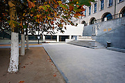 Brussels, Belgium, Oct 28, 2009, Besix project, palais des congres, ©Christophe Vander Eecken