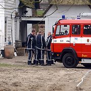 Brand Nicole des Bouvrie Naarden, brandweerwagen,