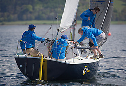 Lights winds dominated the Pelle P Kip Regatta  at Kip Marine weekend of 12/13th May 2018<br /> <br /> GBR8011N, Old School, MacNish/Galbraith/Chas, RGYC<br /> <br /> Images: Marc Turner