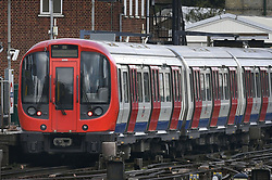"""A tube train at Parsons Green station in west London after Scotland Yard declared a terrorist incident following a blast sent a """"fireball"""" and a """"wall of flame"""" through a packed London Underground train."""