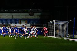 Luke Chambers of Ipswich Town heads the ball - Mandatory by-line: Phil Chaplin/JMP - 21/11/2020 - FOOTBALL - Portman Road - Ipswich, England - Ipswich Town v Shrewsbury Town - Sky Bet League One