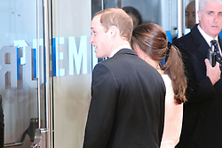 Catherine Duchess of Cambridge; Prince William Duke of Cambridge, The Royal Film Performance; Mandela: Long Walk to Freedom, Odeon Leicester Square, London UK, 05 December 2013, Photo by Richard Goldschmidt