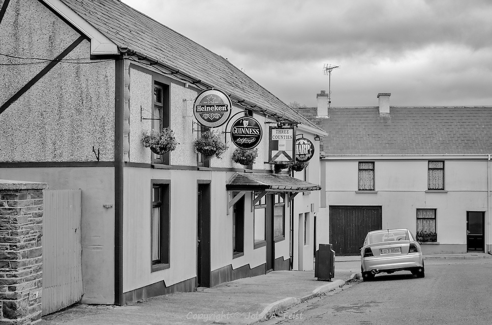 The Three Corners Pub in Brosna, County Kerry, Ireland.  There is precious little else in Brosna other than a very pretty church.  I was also amused at the cosmopolitan influence.  They serve three brews, two Irish and one Dutch!