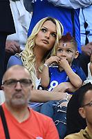 La moglie  e il figlio di Dimitri Payet. Wife and Son<br /> Marseille 15-06-2016 Stade du Velodrome <br /> Football Euro2016 France-Albanie/Francia-Albania Group Stage Group A<br /> Foto Massimo Insabato / Insidefoto