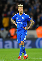 Joe Bennett of Cardiff City- Mandatory by-line: Nizaam Jones/JMP - 02/03/2019 - FOOTBALL - Molineux - Wolverhampton, England -  Wolverhampton Wanderers v Cardiff City - Premier League