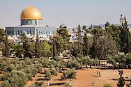 La Parte Araba della città Vecchia, Moschea Al-Aqsa         Old city,Arabic part: Al-Aqsa  Mosque