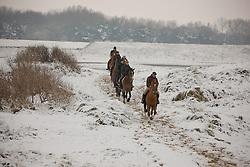 Le Jeune Philippe, (BEL) in the snow<br /> Knokke 2011<br /> © Dirk Caremans