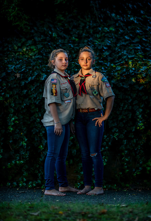 Carolyn Rogers Shoreham,<br /> New York<br /> <br /> Twins Maevry and Adele McCombs were the first two girls to join Cub Scouts in Marietta, Ohio. The decision to join Pack 207 was simple. It was a matter of becoming official participants of a club they had been around all their lives.