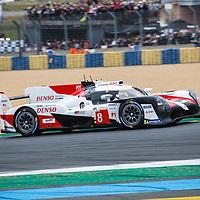 #8,  Toyota Gazoo Racing, Toyota TS050 Hybrid, LMP1H, driven by: Sebastien Buemi, Kazuki Nakajima, Fernando Alonso  on 15/06/2019 at the Le Mans 24H 2019