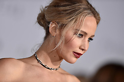 Jennifer Lawrence attends the World Premiere of Columbia Pictures' 'Passengers' at Regency Village Theatre on December 14, 2016 in Los Angeles, CA, USA. Photo by Lionel Hahn/ABACAPRESS.COM