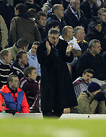 Photo: Andrew Unwin.<br />Leeds United v Cardiff City. Coca Cola Championship.<br />10/12/2005.<br />Cardiff's manager, Dave Jones.
