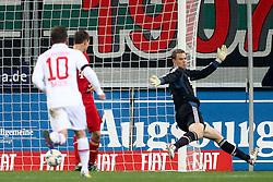 06.11.2011, SGL Arena, Augsburg, GER, 1.FBL, FC Augsburg vs. FC Bayern Muenchen, im Bild Tor zum 1-2 durch Hajime Hosogai (Augsburg #7) mit Manuel Neuer (Bayern #1)  // during the match  FC Augsburg vs. FC Bayern Muenchen , on 2011/11/06, SGL Arena, Augsburg, Germany, EXPA Pictures © 2011, PhotoCredit: EXPA/ nph/  Straubmeier       ****** out of GER / CRO  / BEL ******
