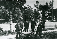 1921 Groundbreaking for the Masonic Temple on Hollywood Blvd. at Orchid Ave.