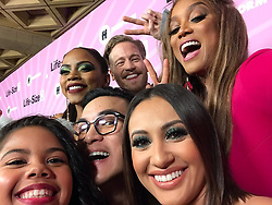 """Tyra Banks releases a photo on Instagram with the following caption: """"Selfie time on the #LifeSize2 pink carpet!"""". Photo Credit: Instagram *** No USA Distribution *** For Editorial Use Only *** Not to be Published in Books or Photo Books ***  Please note: Fees charged by the agency are for the agency's services only, and do not, nor are they intended to, convey to the user any ownership of Copyright or License in the material. The agency does not claim any ownership including but not limited to Copyright or License in the attached material. By publishing this material you expressly agree to indemnify and to hold the agency and its directors, shareholders and employees harmless from any loss, claims, damages, demands, expenses (including legal fees), or any causes of action or allegation against the agency arising out of or connected in any way with publication of the material."""