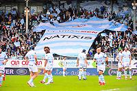 Supporters Racing Metro  - 11.04.2015 - Racing Metro / Montpellier  - 22eme journee de Top 14 <br />Photo : Dave Winter / Icon Sport