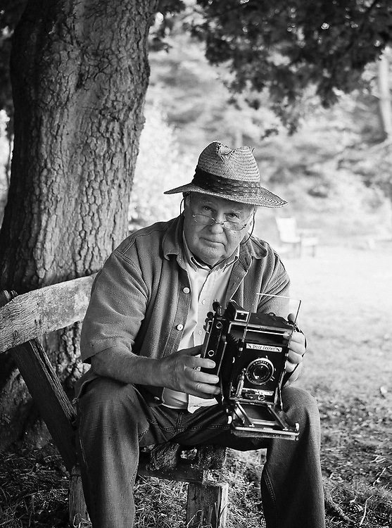 British photographer Terry Fincher seen in 2007. Photograph by Charlie Drinkwater