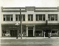 1912 Heywood's Clothing & Hollywood Hardware store at 6412 Hollywood Blvd.