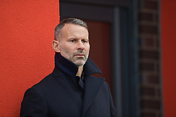 WREXHAM, WALES - Wednesday, October 30, 2019: Wales national team manager Ryan Giggs during the 2019 Victory Shield match between Wales and Republic of Ireland at Colliers Park. (Pic by David Rawcliffe/Propaganda)