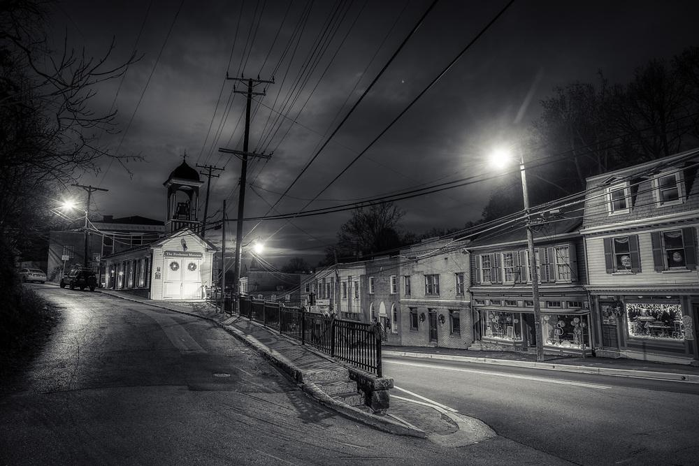 Firehouse Museum, Dawn, Ellicott City, Maryland