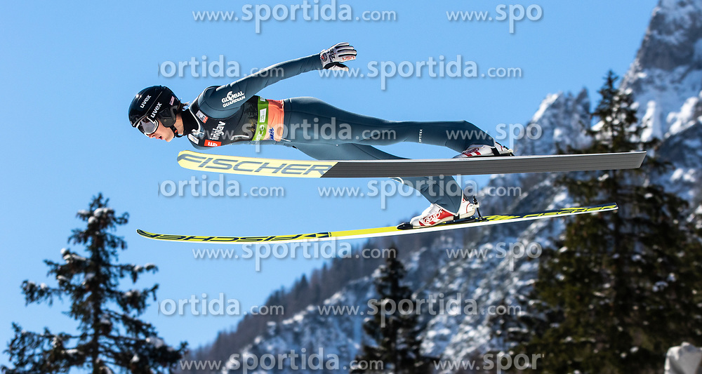 Kevin Bickner (USA) during the Qualification round of the Ski Flying Hill Individual Competition at Day 1 of FIS Ski Jumping World Cup Final 2019, on March 21, 2019 in Planica, Slovenia. Photo by Matic Ritonja / Sportida