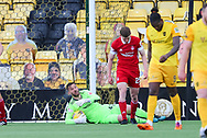 during the Scottish Premiership match between Livingston and Aberdeen at Tony Macaroni Arena, Livingstone, Scotland on 1 May 2021.