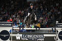 Lindelow Douglas, (SWE), Udermus<br /> Mercedes German Master<br /> Stuttgart - German Masters 2015<br /> © Hippo Foto - Stefan Lafrentz