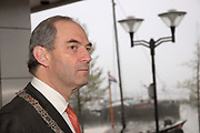 State visit of Luxembourg to the Netherlands /<br /> Staatsbezoek van Luxemburg aan Nederland<br /> <br /> On the photo / Op de foto;<br /> <br /> Burgemeester Cohen ? Major of Amsterdam Cohen
