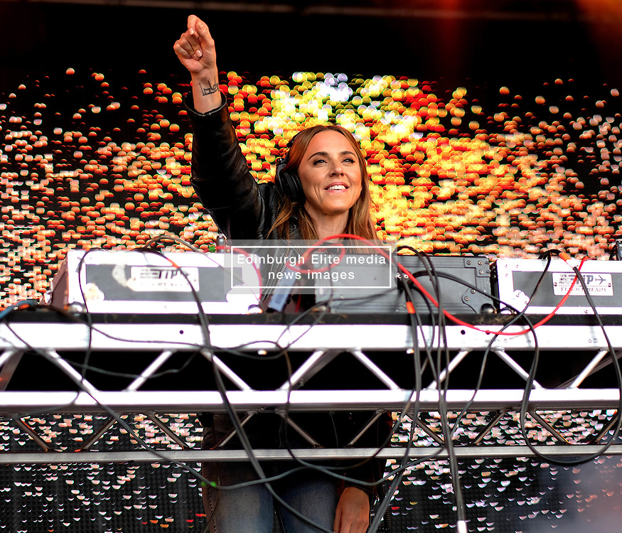Party At The Palace, Saturday 11th August 2018<br /> <br /> Pictured: Mel C<br /> <br /> Aimee Todd | Edinburgh Elite media