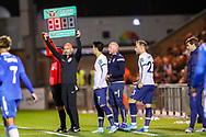 Tottenham Hotspur forward Heung-Min Son (7) comes on in the second half during the EFL Cup match between Colchester United and Tottenham Hotspur at the JobServe Community Stadium, Colchester, England on 24 September 2019.