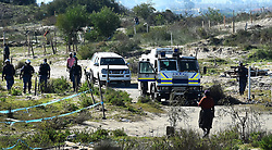 SOUTH AFRICA - Cape Town - 23 July  2020  -  The problem land invasion continue on different areas of Cape Town continues,in township like Khayelitsha and Kraaifontein have been happening for a week now.The latest one is along the N2 near Barcelona informal settlement.People are demanding houses as they can no longer pay rent because of national lockdown. Picture: Phando Jikelo/African News Agency(ANA)