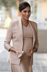 © Licensed to London News Pictures. 30/01/2019. London, UK. The Duchess of Sussex arrives to visit the National Theatre after being appointed its Patron. Photo credit: Ray Tang/LNP