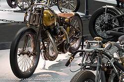 PDF Motociclette of Bergamo, Italy built their Big Kahuna custom from a 1927 Harley-Davidson JD 8-Valve 1000 cc Race bike  on display here at the AMD World Championship of Custom Bike Building show in the custom dedicated Hall 10 at the Intermot Motorcycle Trade Fair. Cologne, Germany. Saturday October 8, 2016. Photography ©2016 Michael Lichter.