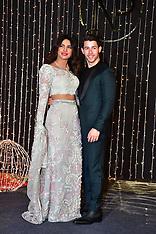 Priyanka Chopra and Nick Jonas seen at wedding reception - 20 Dec 2018