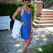 NLD/Amsterdam/20140613 - Leco van Zadelhoff organiseert samen met Beau Monde Beau Bateau een vaartocht met vriendinnen, Sylvana Simons