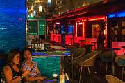 Patpong red light area of bars, Bangkok