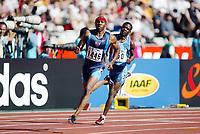 Friidrett, 23. august 2003, VM Paris,( World Championschip in Athletics), Tyree Washington, USA
