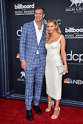Rob Gronkowski, Camille Kostek attend the 2019 Billboard Music Awards at MGM Grand Garden Arena on May 1, 2019 in Las Vegas, Nevada. Photo by Lionel Hahn/ABACAPRESS.COM