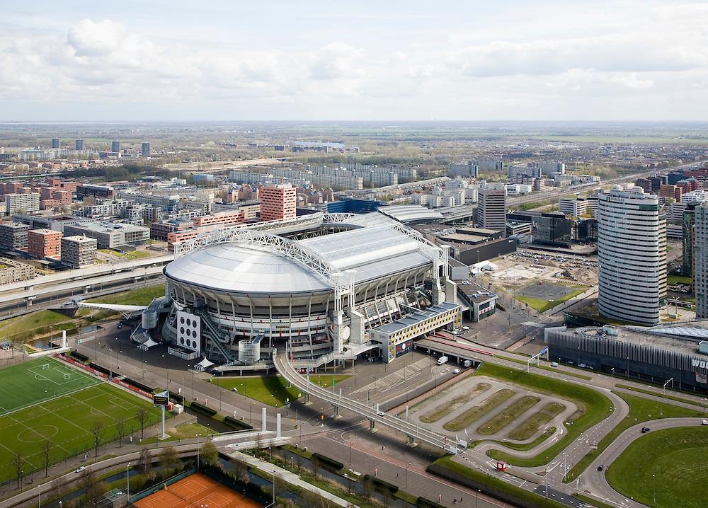 Nederland, Noord-Holland, Amsterdam, 16-04-2008;...luchtfoto (toeslag); aerial photo (additional fee required); .foto Siebe Swart / photo Siebe Swart