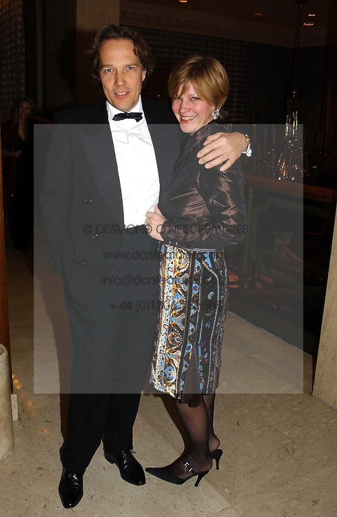The EARL & COUNTESS OF MARCH at the 2004 Cartier Racing Awards in association with the Daily Telegraph, held at the Four Seasons Hotel, London on 17th November 2004.<br /><br />NON EXCLUSIVE - WORLD RIGHTS