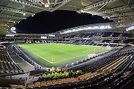 Hull City KC Stadium before the Sky Bet Championship match between Hull City and Cardiff City at the KC Stadium, Kingston upon Hull, England on 13 January 2016. Photo by Ian Lyall.