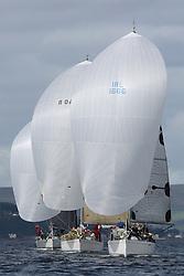 Peelport Clydeport Largs Regatta Week 2013 <br /> <br /> IRL1666, Carmen II, First 36.7, Paul Scutt/Alan Jeffry, HSC<br /> <br /> Largs Sailing Club, Largs Yacht Haven, Scottish Sailing Institute