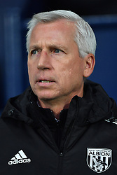 """West Bromwich Albion manager Alan Pardew during the Premier League match at The Hawthorns, West Bromwich. PRESS ASSOCIATION Photo Picture date: Saturday December 2, 2017. See PA story SOCCER WBA. Photo credit should read: Anthony Devlin/PA Wire. RESTRICTIONS: EDITORIAL USE ONLY No use with unauthorised audio, video, data, fixture lists, club/league logos or """"live"""" services. Online in-match use limited to 75 images, no video emulation. No use in betting, games or single club/league/player publications."""