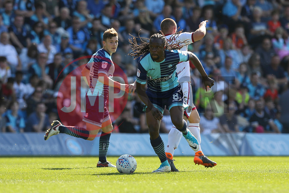 Marcus Bean of Wycombe Wanderers on the attack - Mandatory by-line: Jason Brown/JMP - 05/05/2018 - FOOTBALL - Adam's Park - High Wycombe, England - Wycombe Wanderers v Stevenage - Sky Bet League Two