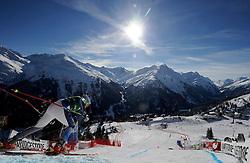 12. 01. 20 1 3, Karl Schranz Abfahrt, St. Anton, AUT, FIS Weltcup Ski Alpin, Abfahrt, Damen im Bild Alice McKennis (USA) // during ladies Downhill of the FIS Ski Alpine World Cup at the Karl Schranz course, St. Anton, Austria on 2013/01/12. EXPA Pictures © 2013, PhotoCredit: EXPA/ Eibner/ Kopatsch ***** ATTENTION - OUT OF GER *****